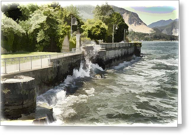 Northern Italy Greeting Cards - Lake Maggiore - Italy Greeting Card by Jon Berghoff
