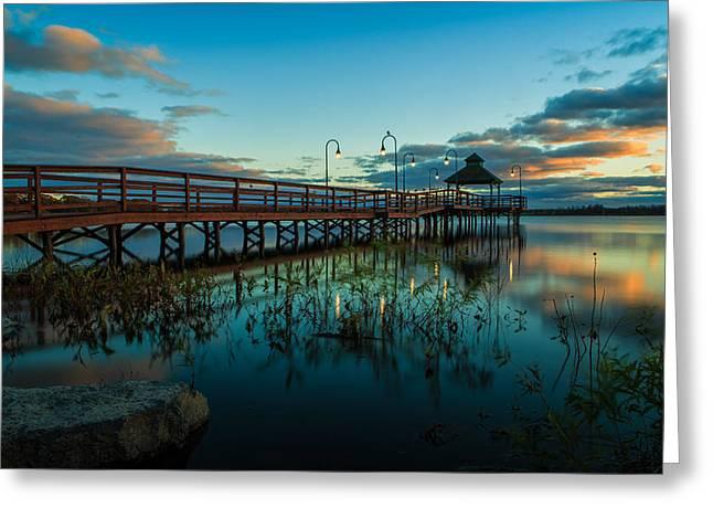 Lake Neatahwanta Greeting Card by Everet Regal