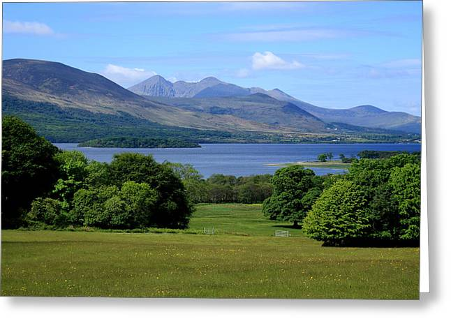 Night Scene Prints Greeting Cards - Lakes of Killarney Greeting Card by Aidan Moran