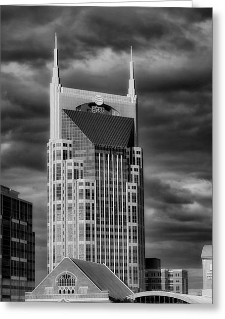 Nashville Greeting Cards - Landmarks of Nashville Greeting Card by Mountain Dreams