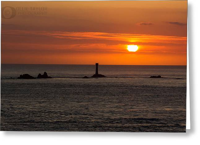 Groat Greeting Cards - Lands End Greeting Card by Ollie Taylor