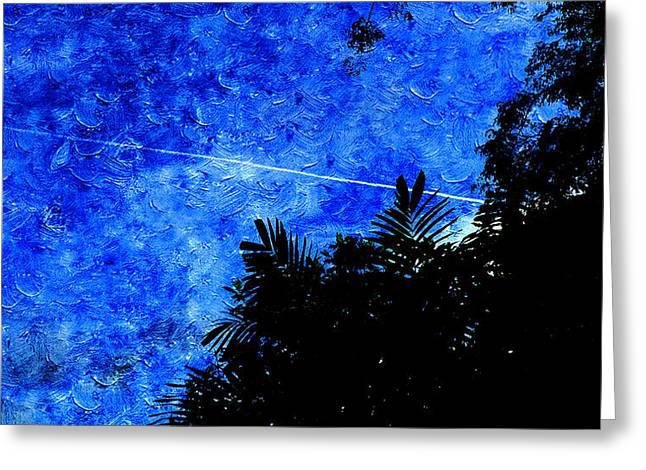 Blue Sky Greeting Card by Xueyin Chen