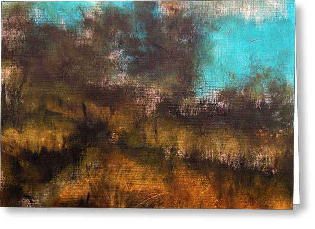 Occasion Greeting Cards - Landscape Greeting Card by Katie Black