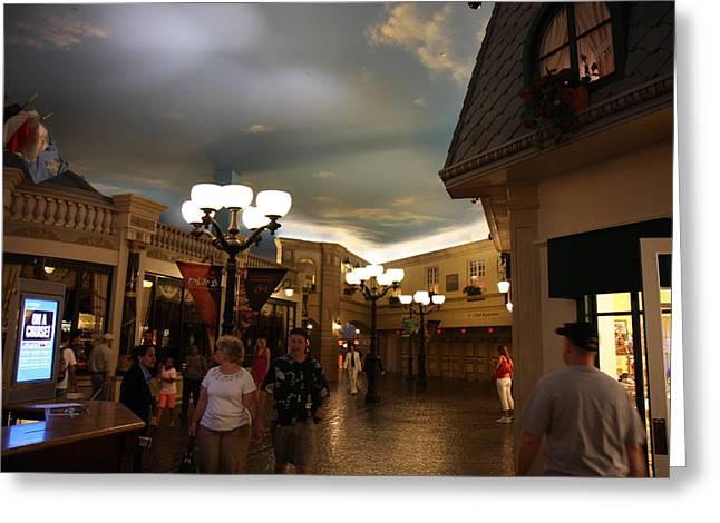 Slot Greeting Cards - Las Vegas - Paris Casino - 12121 Greeting Card by DC Photographer