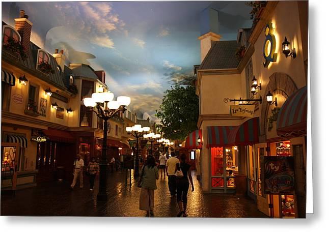 Hot Greeting Cards - Las Vegas - Paris Casino - 12122 Greeting Card by DC Photographer