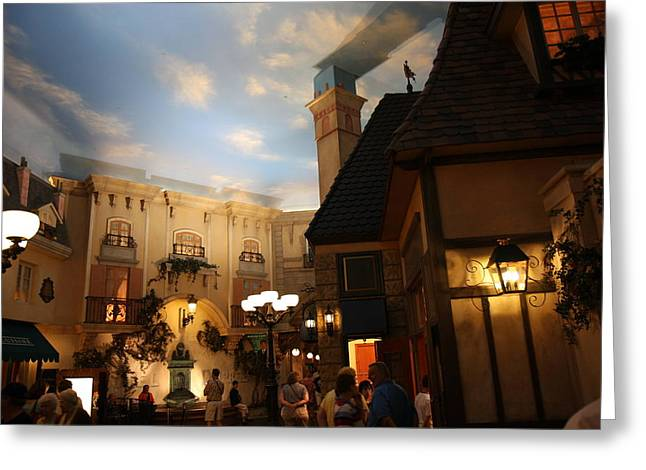 Hot Greeting Cards - Las Vegas - Paris Casino - 12123 Greeting Card by DC Photographer