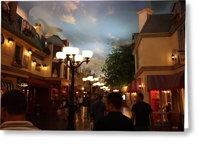 Las Vegas - Paris Casino - 12127 Greeting Card by DC Photographer
