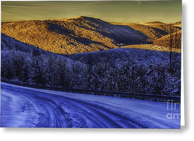 Nature Scene Digital Art Greeting Cards - Last Light  Greeting Card by Thomas R Fletcher