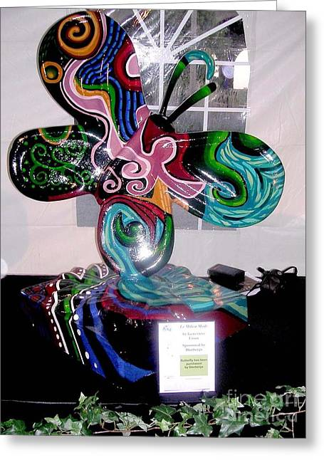 Painted Sculpture Greeting Cards - Le Mileau Mode Greeting Card by Genevieve Esson