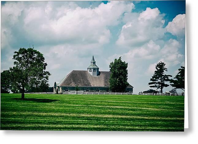 Lexington Greeting Cards - Lexington Horse Farm Greeting Card by Mountain Dreams