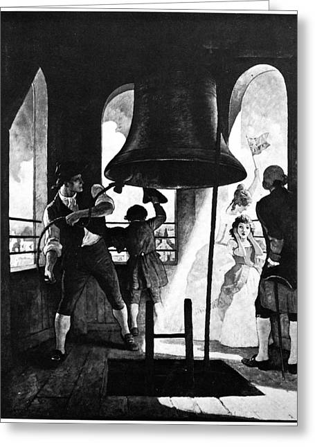 N.c. Greeting Cards - Liberty Bell, 1776 Greeting Card by Granger