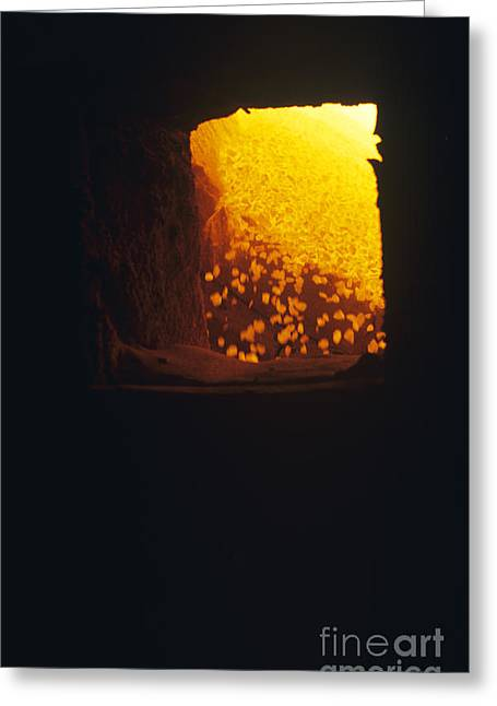Calcined Greeting Cards - Limestone Kiln Greeting Card by Dirk Wiersma
