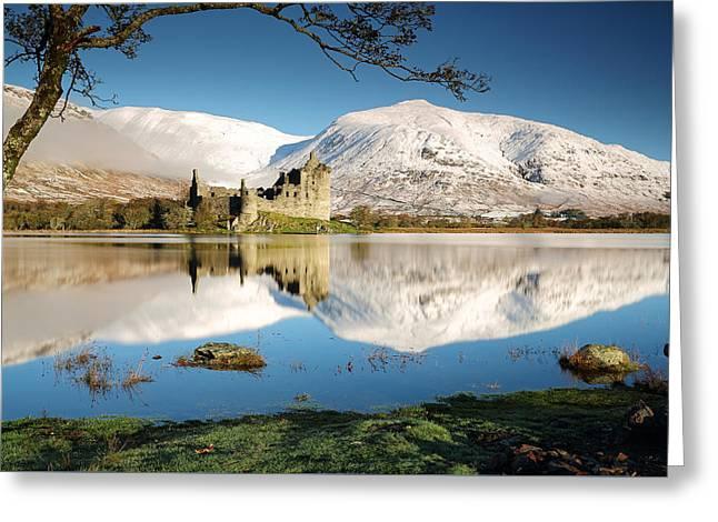 Loch Awe Greeting Card by Grant Glendinning
