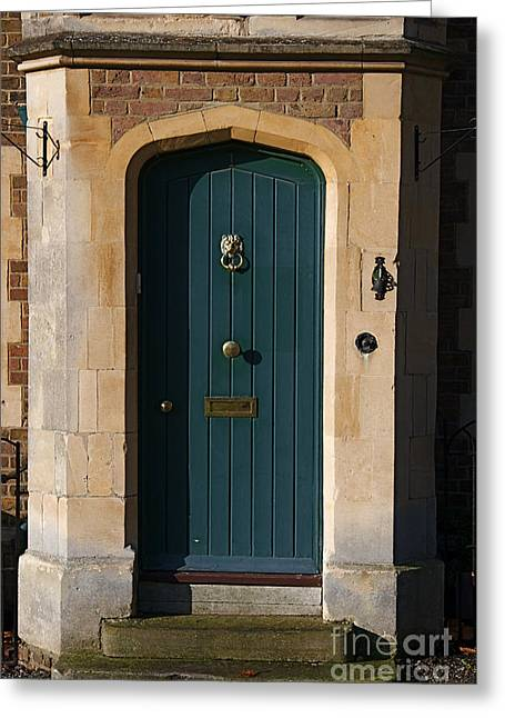 London Doors Greeting Card by ELITE IMAGE photography By Chad McDermott
