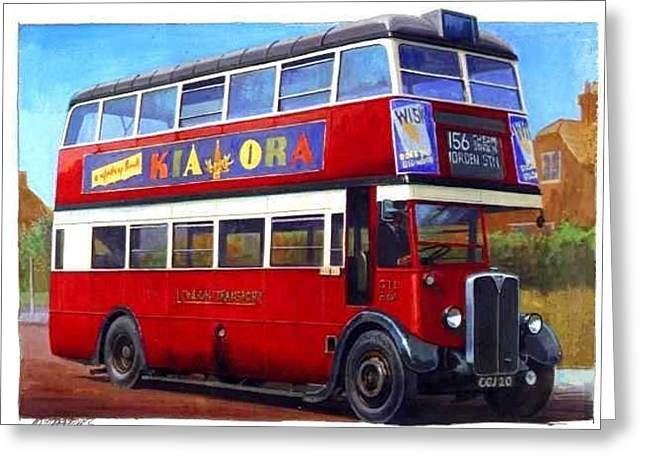 Transport For London Greeting Cards - London Transport STL Greeting Card by Mike  Jeffries