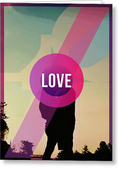 Women Together Greeting Cards - Love Greeting Card by Celestial Images