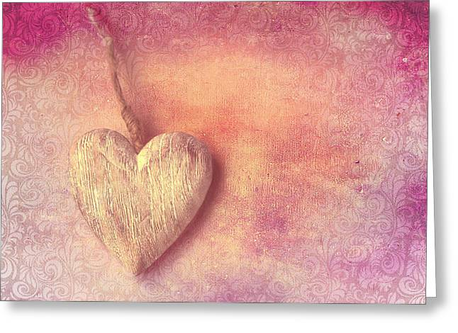 Love Letter Greeting Cards - Love Greeting Card by Heike Hultsch