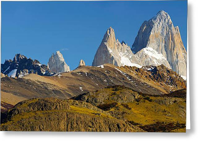 Santa Cruz Greeting Cards - Low Angle View Of Mountains, Mt Greeting Card by Panoramic Images