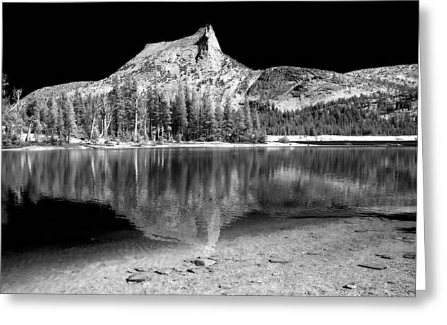 Landscape. Scenic Greeting Cards - Lower Cathedral Lake Greeting Card by Cat Connor