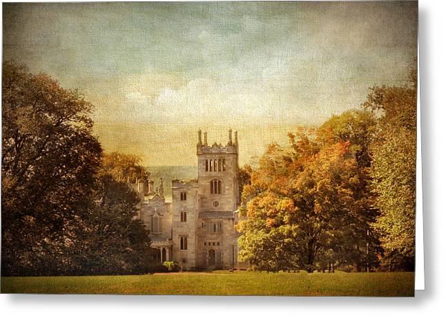 Estate Greeting Cards - Lyndhurst Estate Greeting Card by Jessica Jenney