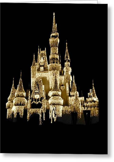 Royal Art Greeting Cards - Magic kingdom Greeting Card by Sheela Ajith