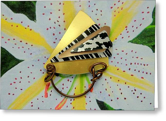Sun Jewelry Greeting Cards - Magnetic Eyeglass Holder Greeting Card by Laura Wilson