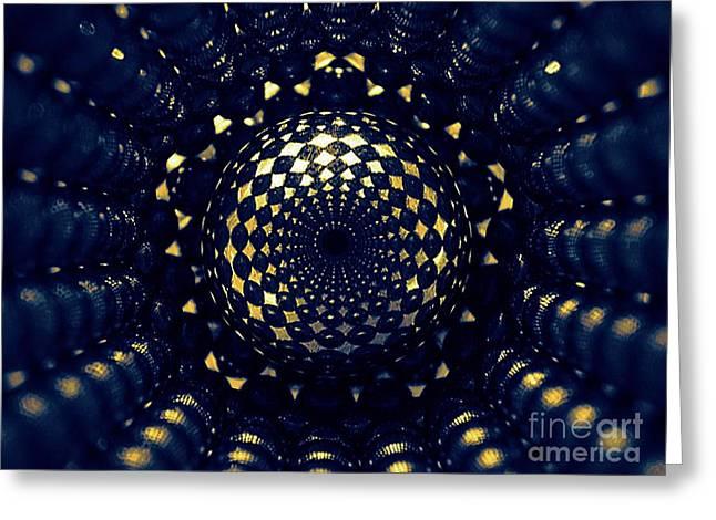Pentagonal Greeting Cards - Magnetic Pentagonal Tube Greeting Card by Mark Teeter