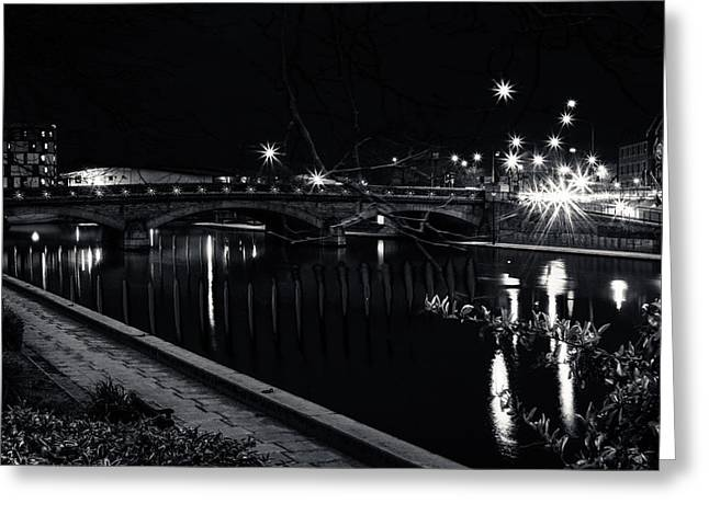 Kent Photography Greeting Cards - Maidstone Bridge Greeting Card by Dawn OConnor