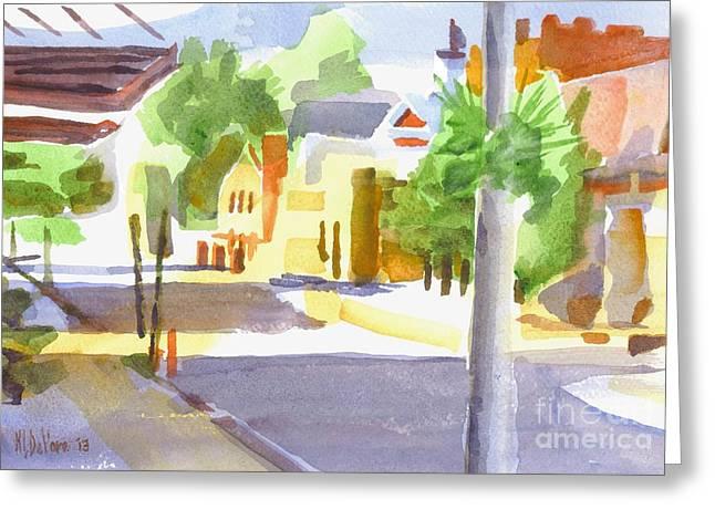 Main Street Greeting Cards - Main Street South II Greeting Card by Kip DeVore