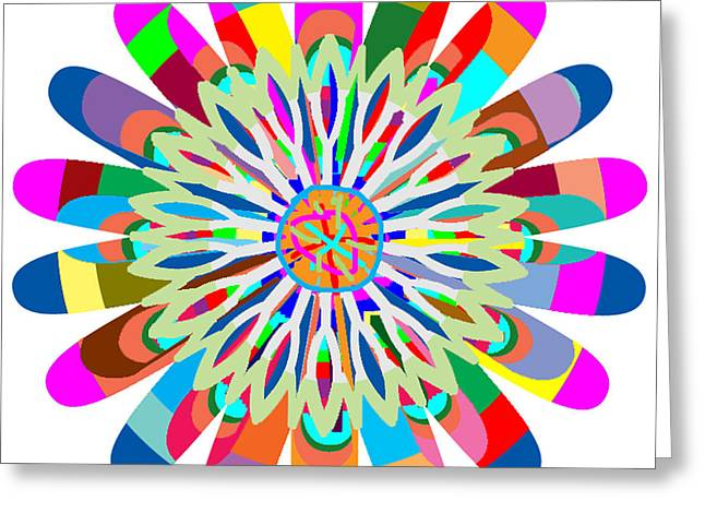 Life-cosmic Dance Greeting Cards - Mandala is an OBJECT it is your SPIRIT to MEDITATE and BE IN TOUCH with cosmic forces that matters Greeting Card by Navin Joshi