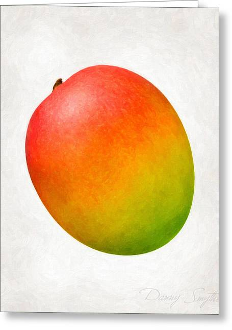 Mango Paintings Greeting Cards - Mango  Greeting Card by Danny Smythe