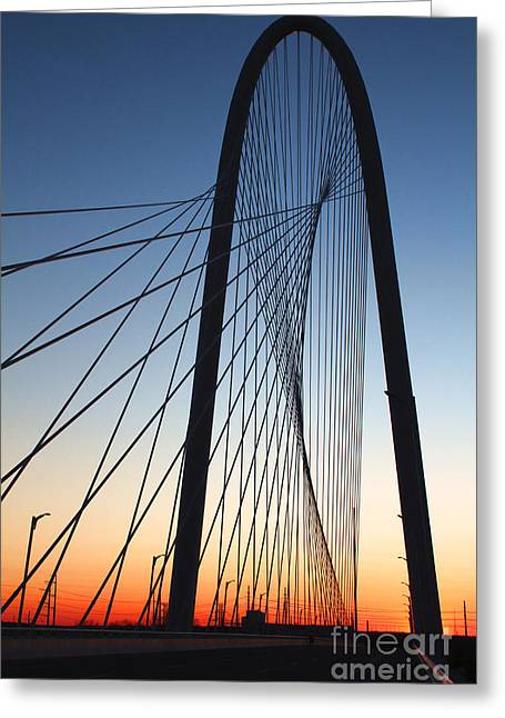 Unique Art Greeting Cards - Margaret Hunt Hill bridge Greeting Card by Elena Nosyreva