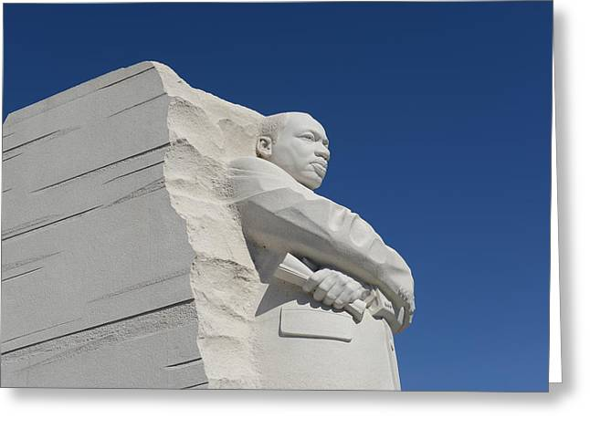 Equality Greeting Cards - Martin Luther King Greeting Card by Brandon Bourdages
