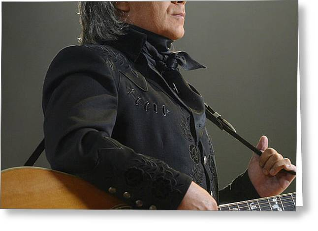 Marty Stuart Greeting Card by Don Olea