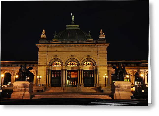 Exibition Greeting Cards - Memorial Hall - Philadelphia Greeting Card by Bill Cannon