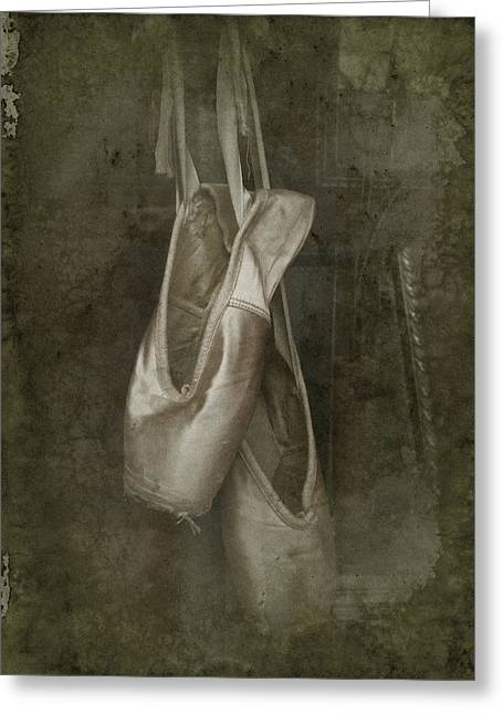 Ballet Slippers Greeting Cards - Memories Greeting Card by Richard Cummings