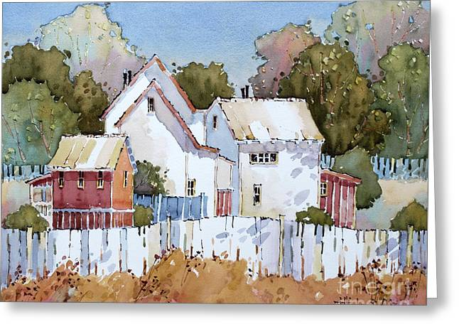 Mendocino Moment Greeting Card by Joyce Hicks