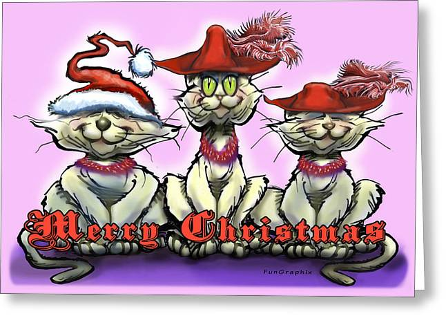 Holiday Greeting Cards - Merry Christmas Greeting Card by Kevin Middleton