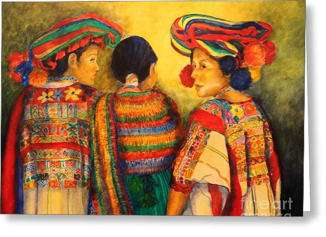 Portray Greeting Cards - Mexican Impression Greeting Card by Dagmar Helbig