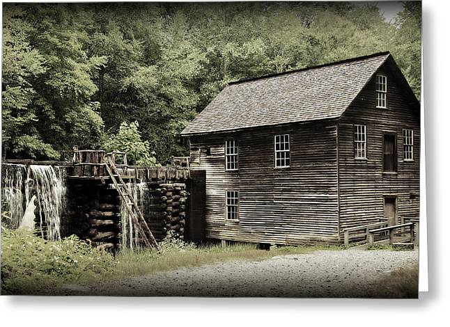 Mingus Mill Greeting Card by Stephen Stookey