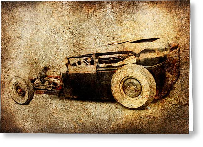 Graffitti Coupe Greeting Cards - Model A Sedan Greeting Card by Steve McKinzie