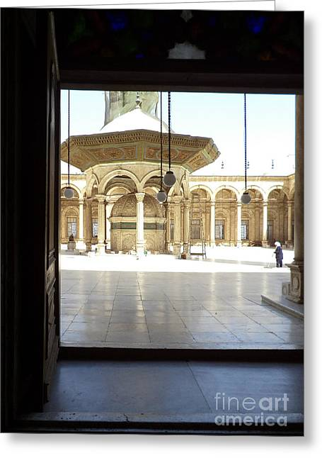 Mohammed Ali Greeting Cards - Mohammed Ali Mosque Greeting Card by Cimorene Photography