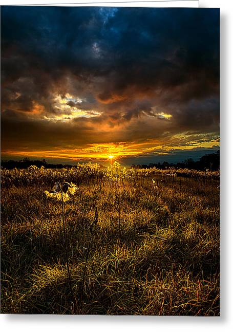 Prayer Photographs Greeting Cards - Moment of Silence Greeting Card by Phil Koch