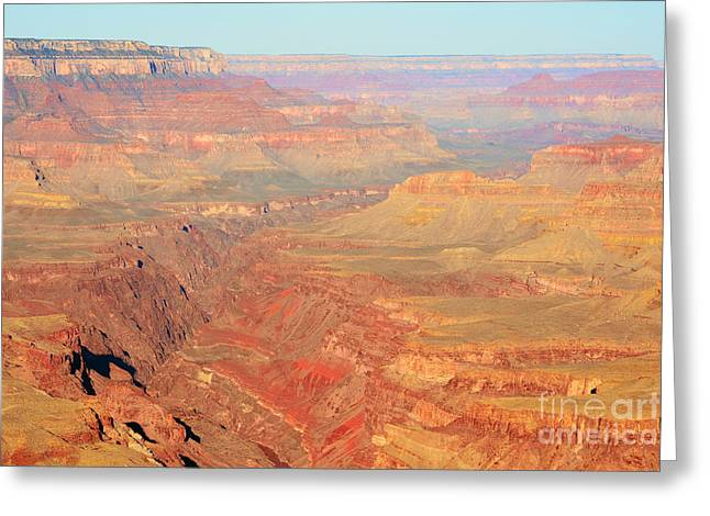 Travelpixpro Greeting Cards - Morning Colors of the Grand Canyon Inner Gorge Greeting Card by Shawn O