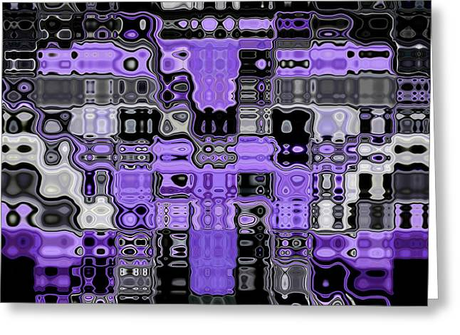 Psychedelic Greeting Cards - Motility Series 20 Greeting Card by J D Owen