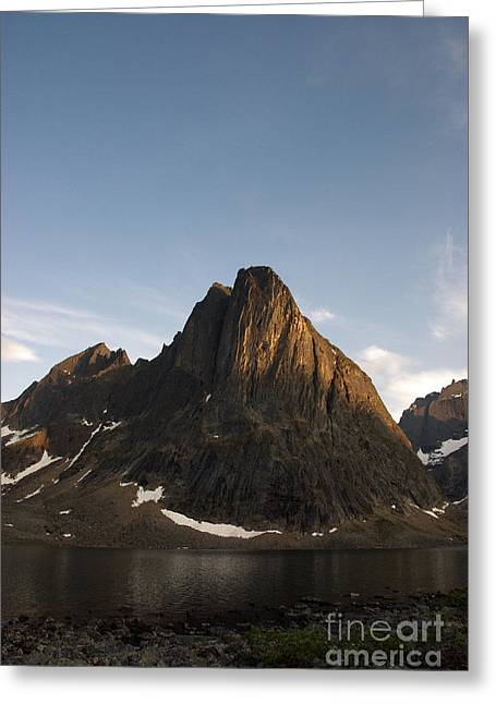Monolith Greeting Cards - Mount Monolith Greeting Card by Mark Newman