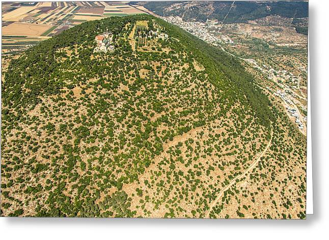 Har Greeting Cards - Mount Tabor, Gilboa Greeting Card by Ofir Ben Tov
