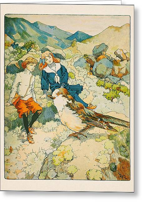 Frederick Greeting Cards - Mountain-land Greeting Card by Celestial Images