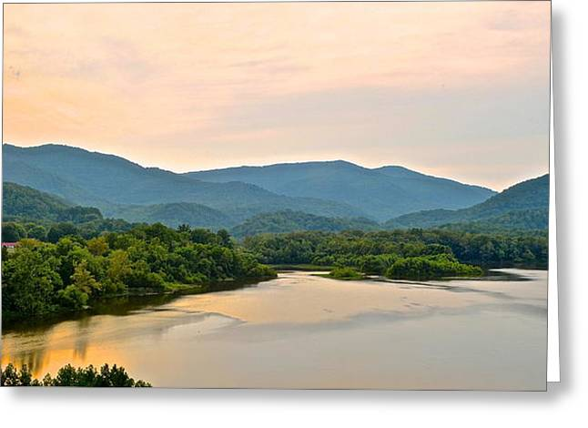 Yahweh Greeting Cards - Mountain Panorama Greeting Card by Frozen in Time Fine Art Photography
