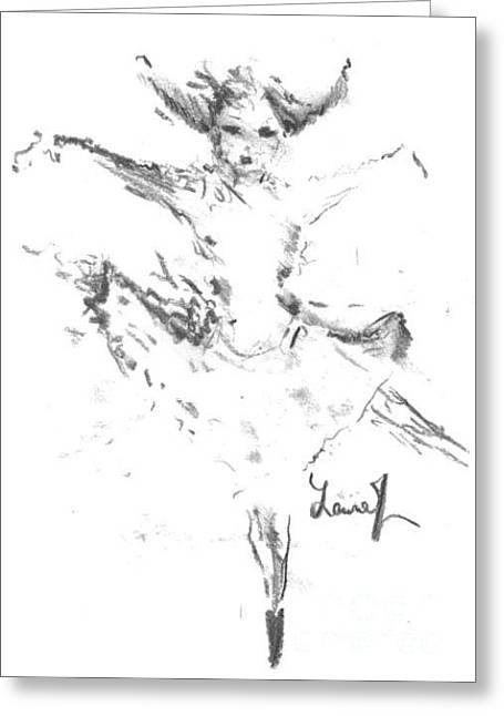 Laurie D Lundquist Greeting Cards - Movement of Dance Greeting Card by Laurie D Lundquist